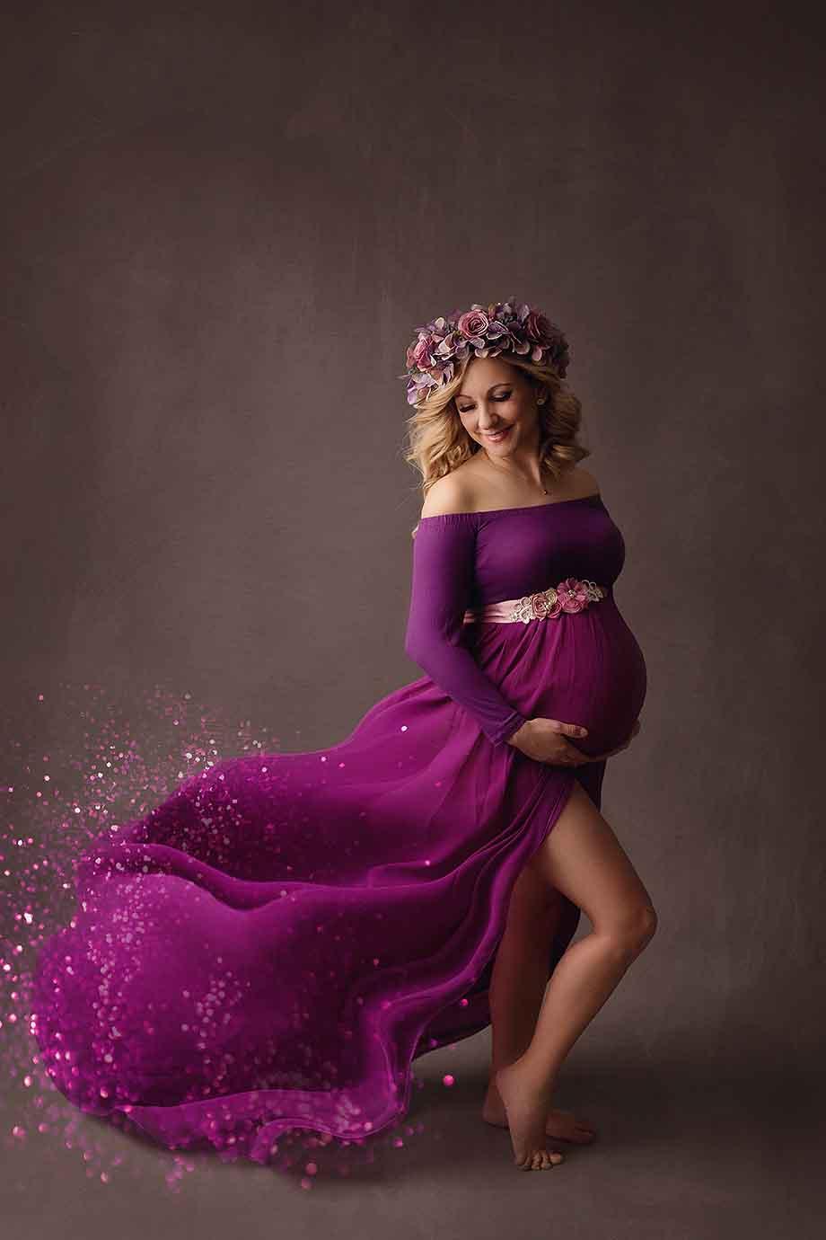 eklusive-schwangerschaft-fotografie-nidda-glitzer-kleider-besondere-babybauch-giessen-frankfurt
