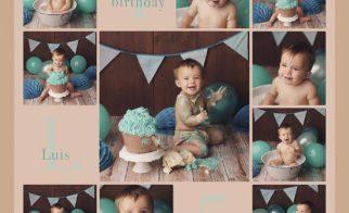 tortenshooting-cakesmash-baby-junge-blau-mintgrün-tyrkis-nidda-giessen-frankfurt